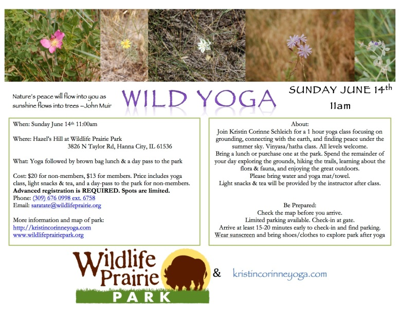 WildLifePraire_Yoga